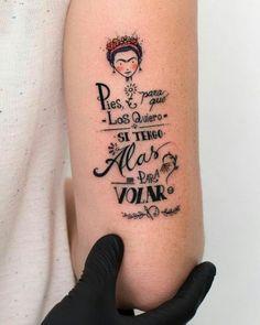 cool tattoo designs brings you the best tattoo ideas and tattoo designs Baby Tattoos, Finger Tattoos, Love Tattoos, Unique Tattoos, Body Art Tattoos, Small Tattoos, Tattoo Ink, Frida Tattoo, Frida Kahlo Tattoos