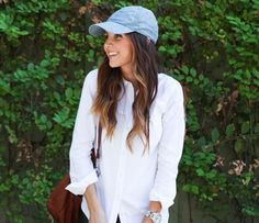 20 Ways to Style the Classic White Button-Down #theeverygirl   looks like i need to buy a white shirt ;)