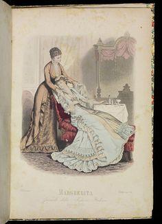 History of fashion - April, 1880