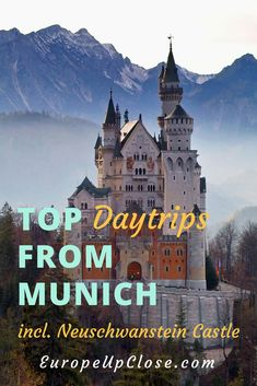 Discover the Beauty of Bavaria on these great Daytrips from Munich, including Neuschwanstein and many other castles, picturesque mountain villages and more #Bavaria #Germany #Munich #Travel #Europe #traveling #Travelblog #travelblogger #travelling #traveler #traveller #Oktoberfest #Octoberfest #Traveltips #alpes #mountains #castles #hiking #history