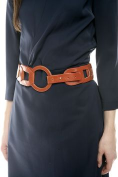 Cute Interlocking Oval Belt