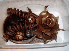 Belgian chocolate - handmade (made by my niece!)