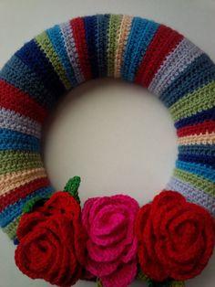 148 Beste Afbeeldingen Van Brei Haak Krans Crochet Wreath Crowns