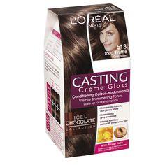 L'Oreal Paris Casting Creme Gloss 513 Iced Truffle Cool Brown Hair Colour