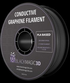 Conductive Filament is much stronger than typical ABS or PLA. This makes it perfect for printing 3D objects such as hand-tools, hooks, or parts which require tooling. Maybe something for 3D Printer Chat? Maybe something for 3D Printer Chat?