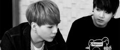 Like, Jungkook stares so intently at Yoongi that it's beautiful~