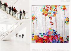 ART-SALE, moderne Kunst, abstrakte Ölgemälde, große Acrylbilder günstig in zwei Berliner Galerien.: Neue Bilder – neues Glück: Wohnen mit moderner Kun...