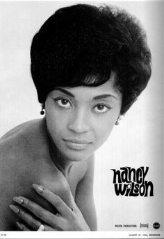 Nancy Wilson - Great soul singer #NorthernSoul #SoulMusic.