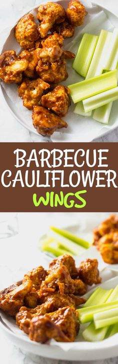 Barbecue Cauliflower Wings Vegan, Gluten-free #cauliflower #bbq #memorialday #4thofjuly #mothersday