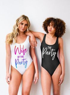 24 Cute Bachelorette Party Swimsuits for Everyone in Your Crew Plus Size Bikini Bottoms, Women's Plus Size Swimwear, Curvy Swimwear, Trendy Swimwear, One Piece Swimwear, One Piece Swimsuit, Swimsuits, Bridesmaid Swimsuit, Suits Show