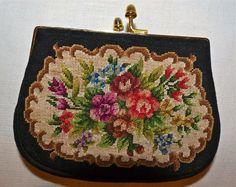 Gobelin Geldbeutel oder Tasche mit Klippverschluss | eBay