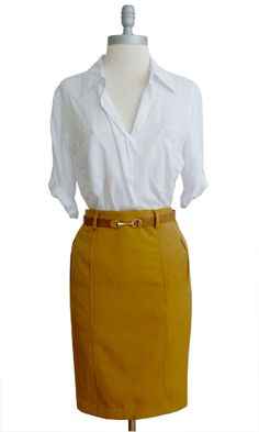 If I ever have to work in a office, this is what I'd wear. :)