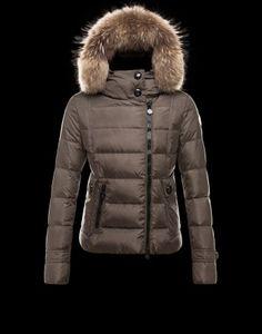 e92dc861015d2 Moncler Bryone Down Jacket For Women Dark Green Ski Fashion
