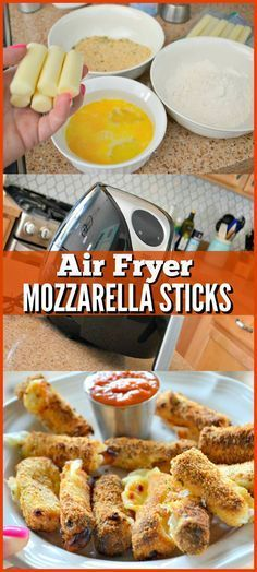 These Air Fryer Mozzarella Cheese Sticks Recipe Are Everything – Hip2Save
