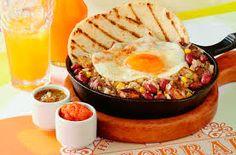 desayunos con calentao Colombian Food, Apple Pie, Camembert Cheese, Acai Bowl, Menu, Breakfast, Desserts, Drinks, Ideas