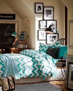 chevron bedding <3