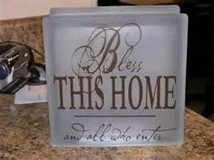 frosted Glass Block | Crafts - by aimee