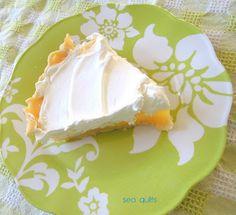 Lemon Cream Pie  @SeaQuilts