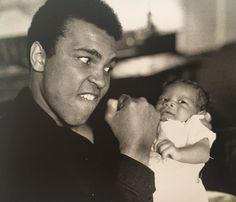 Muhammad Ali & Damon Bingham RIP to both of these beautiful souls