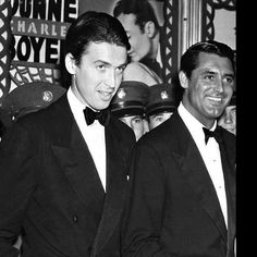 We Had Faces Then — James Stewart and Cary Grant at the Hollywood... Hollywood Glamour, Classic Hollywood, Irene Dunne, Star Wars, Face Men, Cary Grant, Love Affair, Classic Movies, Actors & Actresses