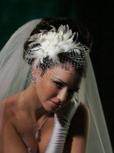 Wedding, Flowers, Hair, White, Dress, Jewelry, Silver, Bridal styles