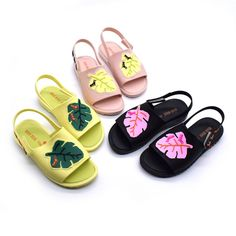 >> Click to Buy << Mini Melissa Leaves Sandals Girl Jelly Sandals 2017 Summer New Boy Sandals Girl Beach Shoes Children Sandals Melissa Shoes #Affiliate