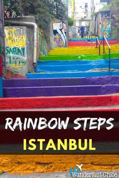 The Colourful Revolution Of The Rainbow Steps, Istanbul, Turkey