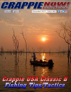 Check out the December issue of Crappie NOW FREE!