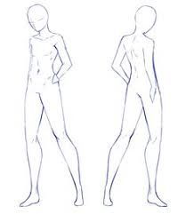 Anime Male Body Base Google Search Body Sketches Drawing Base