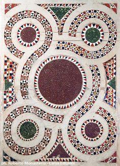 Ceramic Mosaic Tile, Marble Mosaic, Stone Mosaic, Mosaic Art, Mosaic Glass, Graphic Patterns, Print Patterns, Floor Patterns, Medieval Art