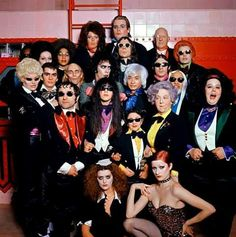 Rocky Horror Picture Show Transylvanians.