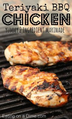Teri Q Chicken Marinade recipe.  This is my family's all time favorite grilled chicken recipe.  This marinade is easy and cheap. Check it out here!