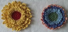Layered Dimensions Crochet Flower — Reclaim the Aaaahh of Your Existence