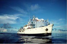 La Calypso du commandant Cousteau - photo : l'Equipe Cousteau