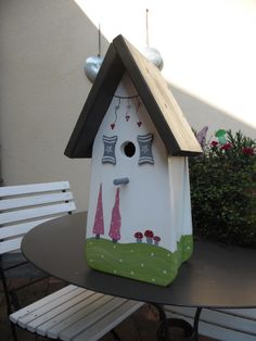 Carpentry Projects, Garden Deco, Into The Woods, Bird Boxes, Nesting Boxes, Malm, Garden Boxes, Vintage Diy, Beautiful Birds