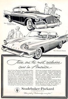 1958 Studebaker-Packard Ad
