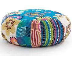 Marie Claire Maison a sélectionné le pouf ottoman de la collection Ibiza by myfab