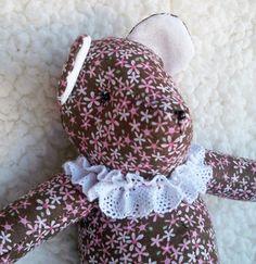 Hattie the Little Teddy Bear by ellemardesigns on Etsy, $10.00