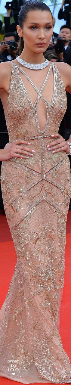 Bella Hadidi 2016 Cannes Film Festival | LOLO❤︎
