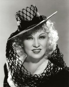 Mae West, photo by Ray Jones