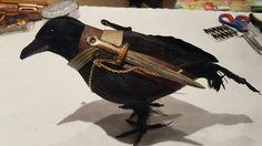 Steampunk Warrior Crow