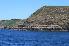 Les Batteries de  Cornouaille, sous la Pointe des Espagnols