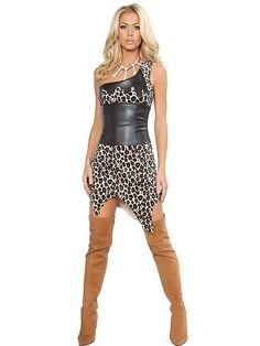 Women's Sexy Jungle Heat Cavewoman | Wholesale Cave Woman Halloween Costumes for Sexy Costumes