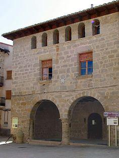 Ayuntamiento #La Portellada#matarranya20 Teruel Aragón