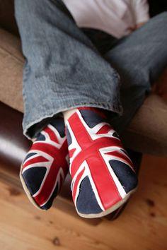 Union Jack shoes
