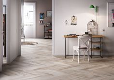 Living room tiles: your home decor inspiration - Marazzi 6742 Decor, Furniture, Creative Interior Design, Interior, Tiles, Living Room Flooring, Home Decor, Home Office Design, Flooring