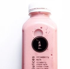 The original Strawberry Mylk / By Pressed Juices - Positively Life Changing (Photo via @alittledainty)