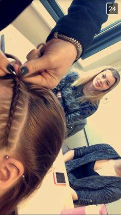 Haarband opvlecht