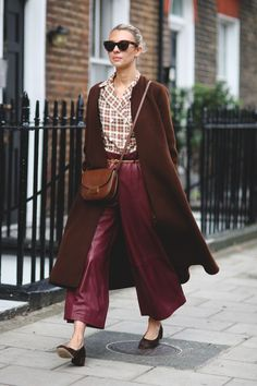 The Street Style Looks From London That Break All The Rules #refinery29  http://www.refinery29.com/2015/09/94443/london-fashion-week-spring-2016-street-style-pictures#slide-54  Wear all your fall appropriate hues at once....