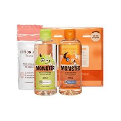 Etude House Monster Cleansing Water Duo Special Set for sale online Sleeping Pack, Vitamins For Kids, Etude House, Facial Skin Care, The Balm, Cleansing Water, Skincare, Trends